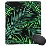 Mouse Pad Hawaiian Tropical Palm Leaves Non-Slip Rubber Gaming Mouse Pad Mat