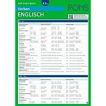 PONS Verben auf einen Blick Englisch (PONS Auf einen Blick)