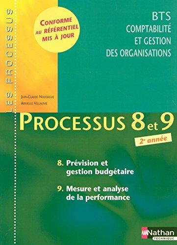 Processus 8 et 9 - Prévision et gestion budgétaire - Mesure et analyse de la performance - BTS CGO 2e année par Armelle Villaume