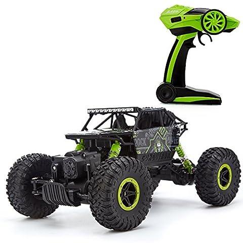 61803 - 2,4 Ghz RC Buggy Monstertruck Ferngesteuert, Ferngesteuertes Auto für Draußen, RC Auto
