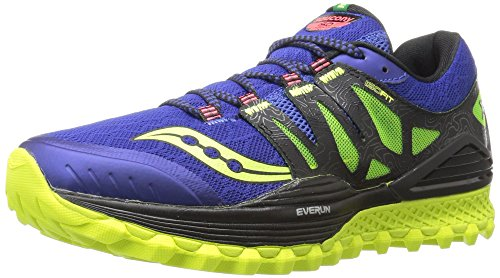 Saucony 20325-2, Zapatillas de Trail Running Unisex Adulto, Azul, UK-7
