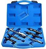 Dasbet - Cassetta porta attrezzi, 5 pezzi: estrattore, estrattore per cuscinetti, estrattore a percussione, estrattore a battitoio