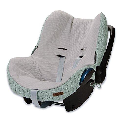 Preisvergleich Produktbild Baby's Only 465509 Bezug für Babyschale 0+ Zopf Mint