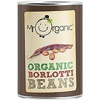 Mr Organic Habas De Borlotti Orgánica 400g (Paquete de 6)