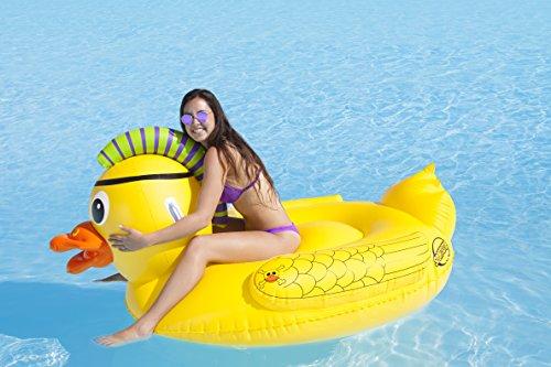 SportsStuff Punk Pirate Duck Float, Gelb -
