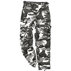 Mil-Tec BDU Ranger Combate Pantalones Urban tamaño 3XL