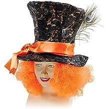 Mad Hatter with Orange Hair (gorro/ sombrero)