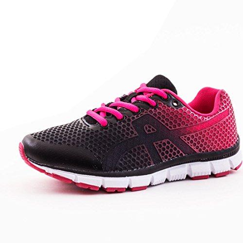Sneakers Da Donna Modello Sneaker Sneaker Modello 1: Nero-rosa