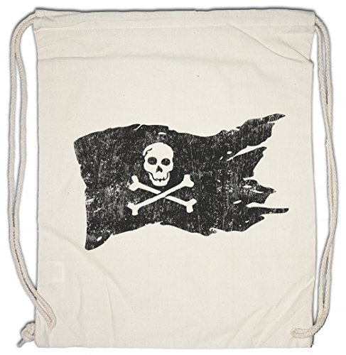 Urban Backwoods Pirate Flag Turnbeutel Sporttasche