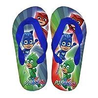 Slippers Flip Flops Pj Mask Child Boy Slippers Official Original Blue Size: 6/7 UK Child