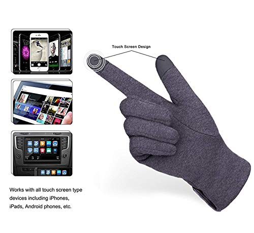 42e5530c9d3 METOG Women Touch Screen Gloves Warm Lined Thick Warmer Winter Gloves -  DiscountFashion.co.uk