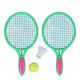 9253d5046 Las raquetas miden 14.17 x 6.30 in Me Gusta Mi opinión. poetryer Set De  Bádminton Juego De Bádminton para Niños ...