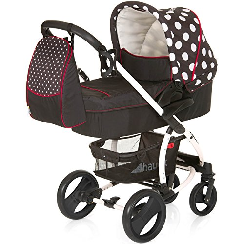Hauck Kinderwagen-Set Malibu XL All in One - Dots Black