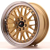 Japan Racing Jr10 Gold 7x16 ET30 4x100/108 Llantas de aleación