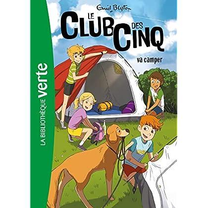 Le Club des Cinq 10 NED - Le Club des Cinq va camper