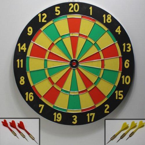Grande divertimento di svago per giovani e anziani. Disco di gioco per giochi come ad esempio 301/501e più...-----Attenzione: utilizzare solo sotto la supervisione di un adulto (Sport dispositivo, non è un giocattolo)