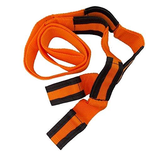 JJOnlineStore–2x 8ft Orange Bewegung Gurtband Möbel Haushaltsgeräte sicheren Transport Gürtel Mover Zughilfen unterstützen