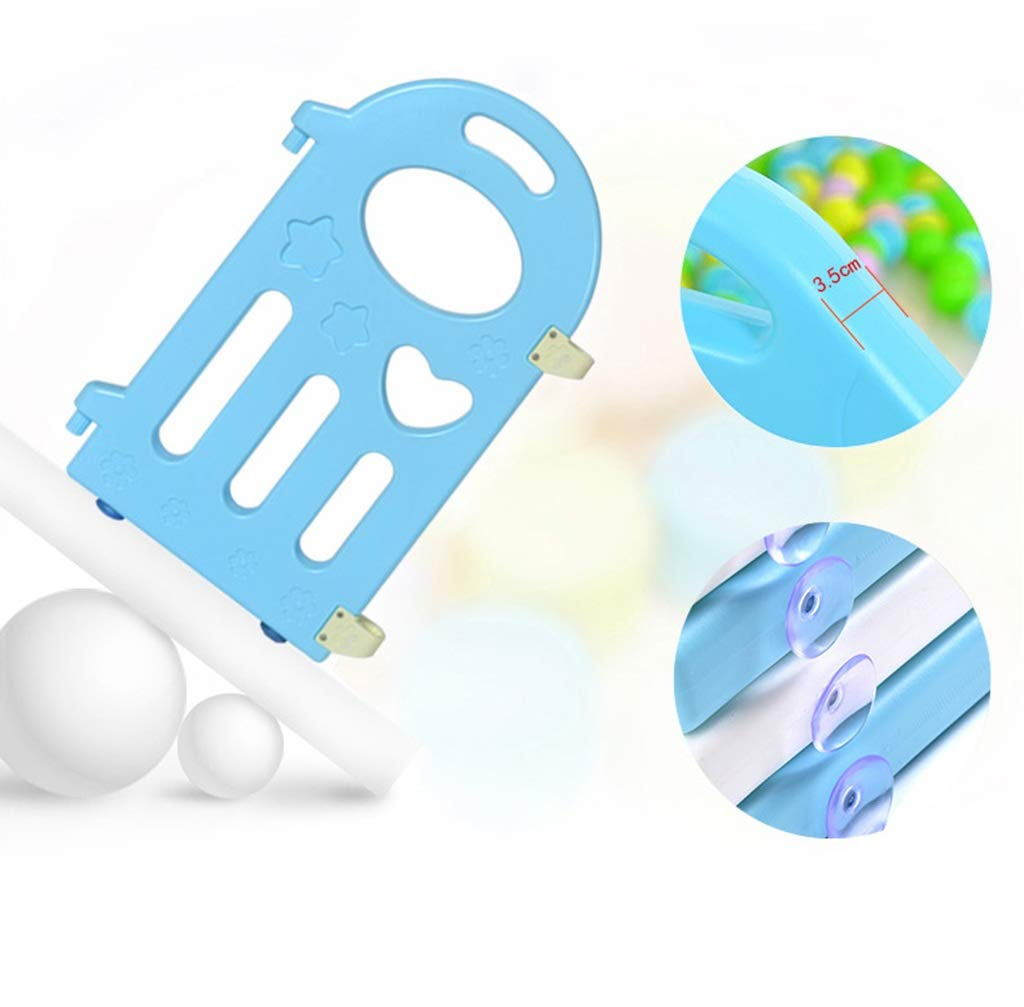 """HWZPPP KJZhu Infant Game Fence, Bedroom Living Room Baby Crawl Learning To Walk Protective Fence Indoor Playground Ocean Ball Pool 40-80CM Foldable HWZPPP ◆: High-quality and environmentally-friendly materials, easy to install, large space, stable to use, easy to carry; ◆: This product does not contain other accessories ------- To learn more styles, please search for """"HWZPPP"""" on Amazon.com, I wish you a happy life! ★Guarantee: If you provide us with photos after product logistics and shipping damage, we can replace or refund them for free; 3"""