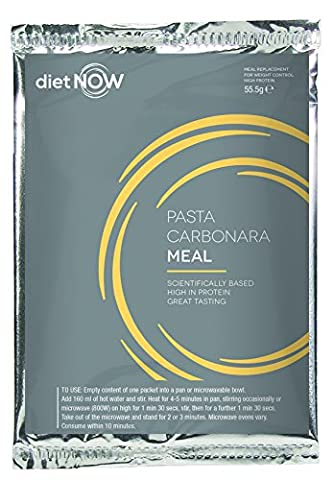 Diet Now Meal Replacement (10 pack) (Pasta Carbonara)