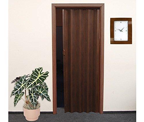 Porta a soffietto in legno di quercia ruegen scuro 86 x 203 cm parete a soffietto porta - Porta a soffietto in legno ...