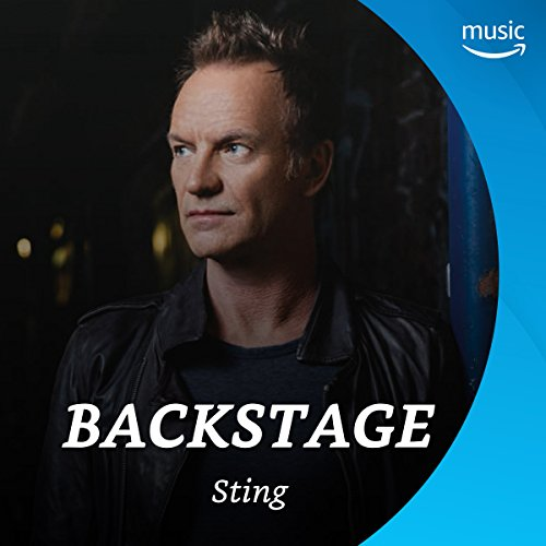 Backstage mit Sting