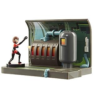 Incredibles 2 74933 Elastigirl - Figura Decorativa (Incluye Accesorios)