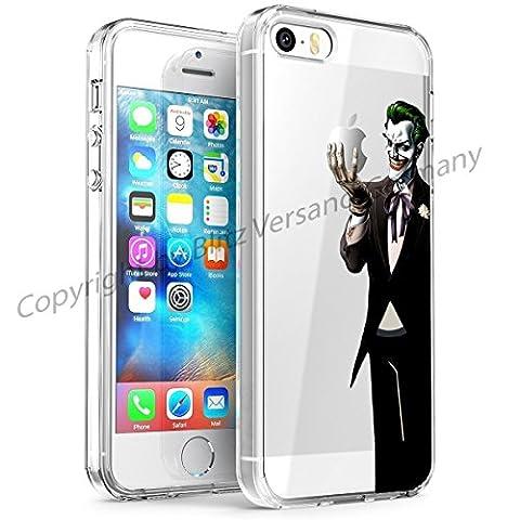 Blitz® DISNEY motifs housse de protection transparent TPE caricature bande dessinée dessin pochette Joker / Batman iphone 4/4s