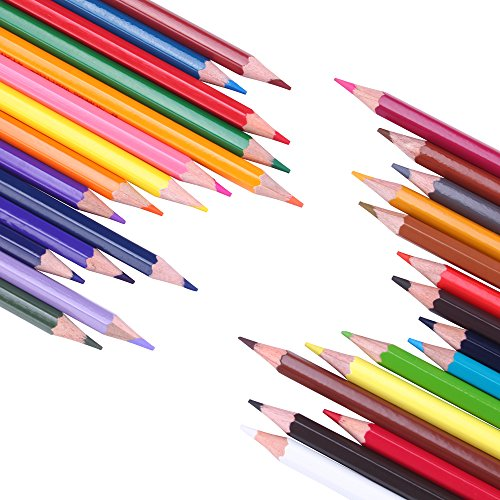 Buntstifte 36 Farbstifte Farben mit Bleistiftspitzer Colored Pencils for Adults (36 Stück)