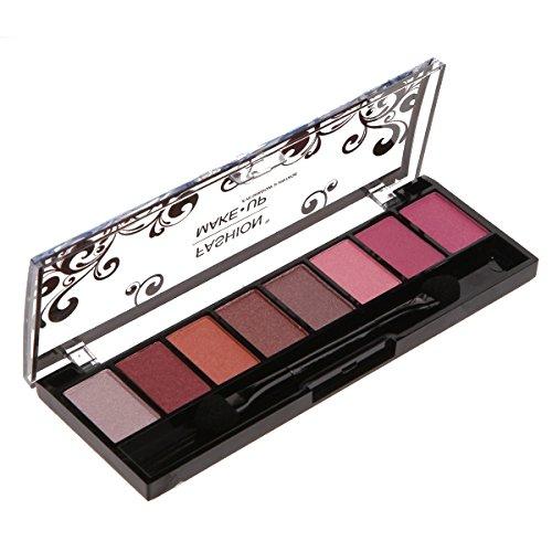 Palette Maquillage - 8 Fards Ombres à Paupières Teinte Dégradé de Rose