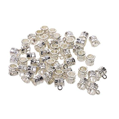 Prettyia 50pcs Pendenti Ciondoli Charms Perle per Creazione Gioielli Collane Bracciale DIY