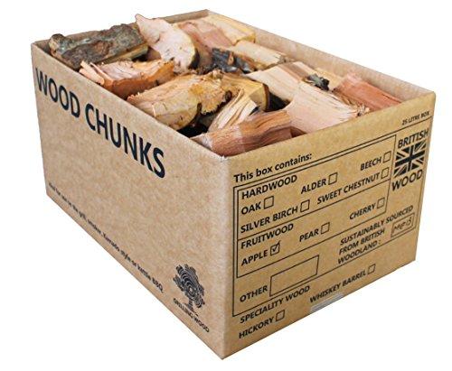 BBQ Smoking Apple Holz Chunks (Bbq Rauch-wood Chunks)
