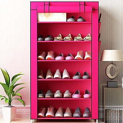 TIAMO Semplice Multi - Strato Assemblea famiglia ferro Economia - metallo di stile di scarpe polvere -