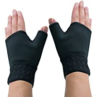 Funwill 1Pair Support Gloves Arthritis Carpal Tunnel Weak Hand Wrists Aching Compression