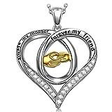 Muttertagsgeschenke Anhänger Halskette PRINCESS NINA Für immer Mama Damen Kette Silber 925 Schmuck Geschenke für Muttertag Valentinstag Geburtstag Graduierung Engagement Hochzeit Jahrestag
