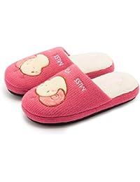 Zapatillas de Estar Por Casa Unisex Niños Lindo Suave Pantuflas Invierno