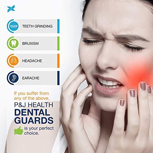 Bite Dentale Notturno Automodellante anti Russamento, Bruxismo, Digrignare i denti e disturbi dell'ATM Teeth Guard x 4
