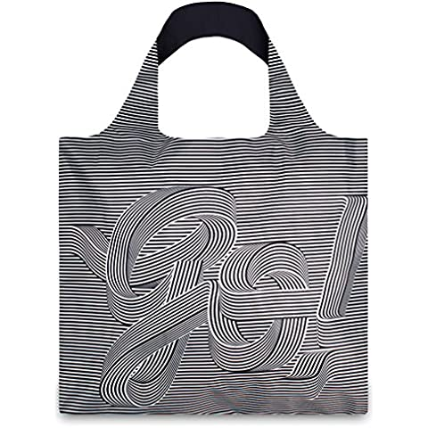 TYPE Go Go Go Bag © Sagmeister & Walsh: Gewicht 55 g, Größe 50 x 42 cm, Zip-Etui 11 x 11.5 cm, handle 27 cm, water resistant, made of polyester, OEKO-TEX certified, can carry up to 20 kg