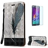 Best Carte di Samsung grafica - Samsung Galaxy Note 5 Custodia in Pelle PU Review