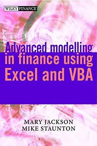 Advanced Modelling in Finance Using Excel and VBA (The Wiley Finance Series) by Mary Jackson (2001-04-20)