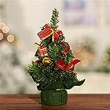 Künstlicher Weihnachtsbaum Dekoration Tannenbaum Christbaum Mini Weihnachtsbaum Desktop Deko (E)