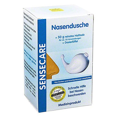 AMV Nasendusche Kombip.50g Spülsalz+Dos.Löffel 1 P Kombipackung