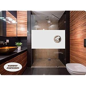GD35 / 65cm hoch Sichtschutz Folie Fenster Sichtschutzfolie Fensterfolie Glasdekor Sichtschutzfolie Window blickdicht wasserfest selbstklebende Folie