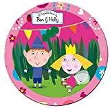 Ben and Holly Party Plates 8 Pack