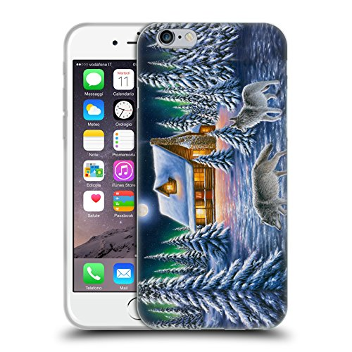 Ufficiale Chuck Black Bentornato a casa Cabina Cover Morbida In Gel Per Apple iPhone X Furtivo di notte