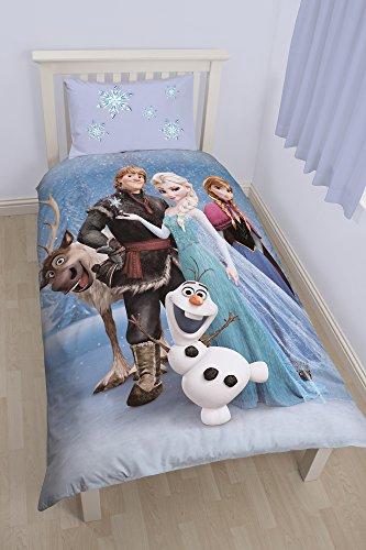 """""""Disney Frozen Stellar"""" Set Copripiumino singolo, multicolore"""