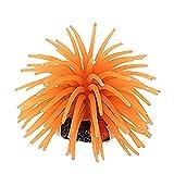 Trifycore Usando múltiples Modelización Erizo de mar Artificial de reemplazo de Coral para la decoración de Naranja Peces de Acuario Tanque (Talla S), Pescado y Tiendas de Animales acuáticos