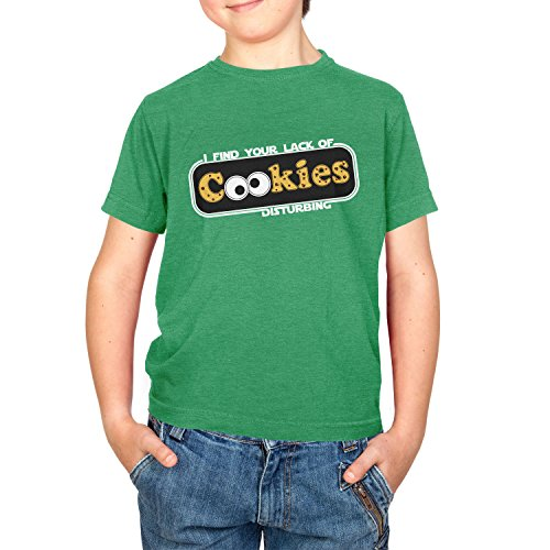 Monster Kostüm Cookie Ideen (TEXLAB - Lack of Cookies - Kinder T-Shirt, Größe L,)