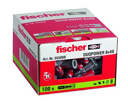 FISCHER Taco DuoPower 8x40 Caja 100 Ud