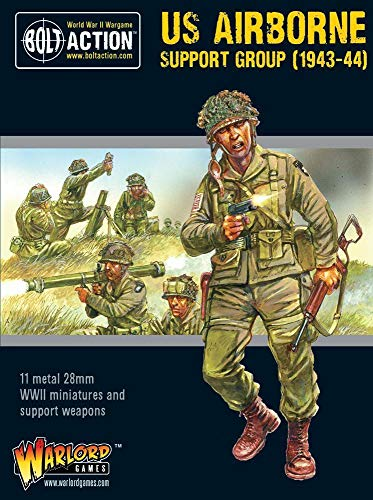 Bolt Action Warlord Games US Airborne Support Group (1943-44) -