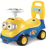 #9: GoodLuck Baybee - Toddlers Minions Ride On Push Car With Music Toy Children Rider & Small Toy Infant Baby Toys Upto 18 Months | No Battery | Twist, Turn, Wiggle for endless fun Easy To Assemble | Kids Suitable For Boys & Girls